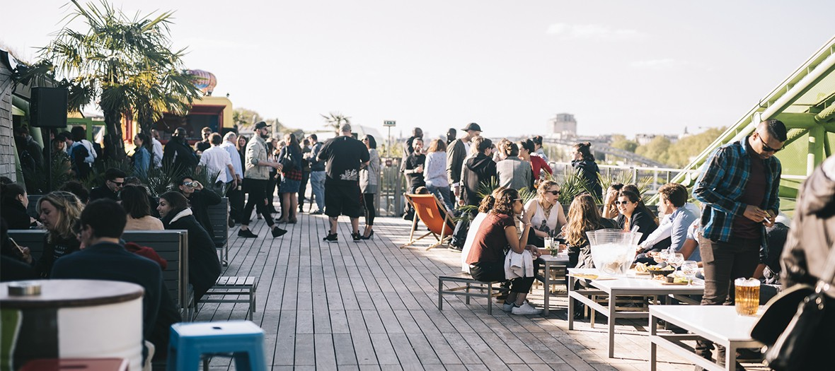 Rooftop australien du Café Oz