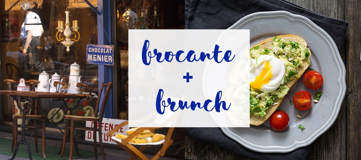 Brocantes and brunch in Paris with Scandinavian mirror