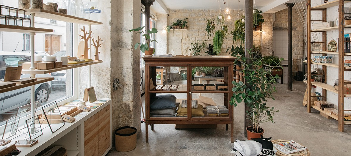 Concept store et coffee shop éco-responsable à Paris