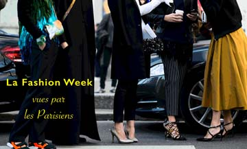 Fashion-week seen by the Parisians
