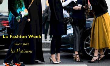 La fashion week vue par les Parisiens