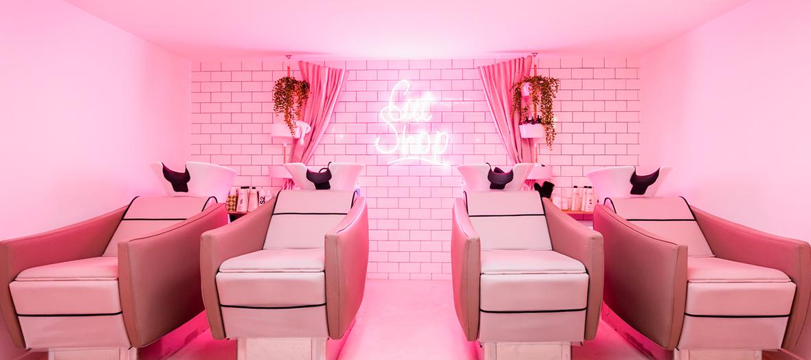 salon de beauté, coiffeur et nail bar