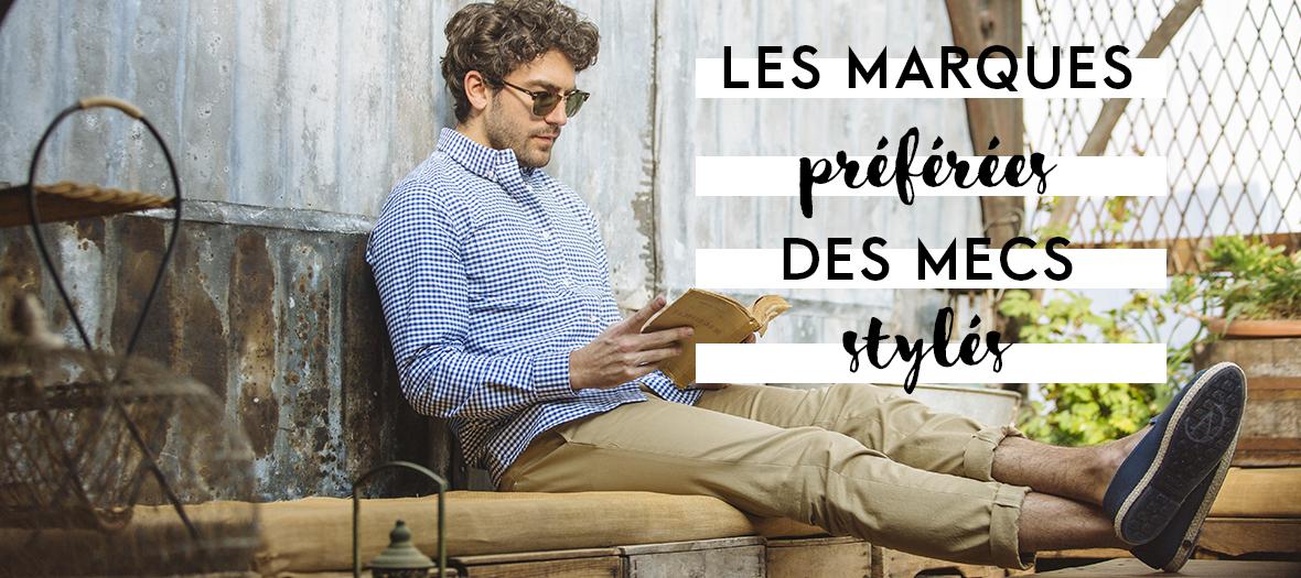 Les nouvelles marques mode tendances pour hommes