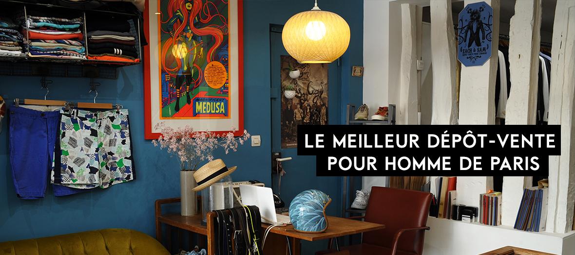 zach et sam d p t vente homme de paris. Black Bedroom Furniture Sets. Home Design Ideas