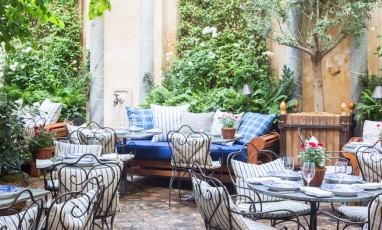 The most chic hidden terrace of  Saint-Germain-des-Prés