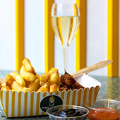 Apero Frite Champagne Pont Neuf Friterie