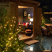 Cabane dans le jardin du Roch Hotel & Spa