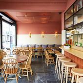 Bar à cocktails méditerranéen