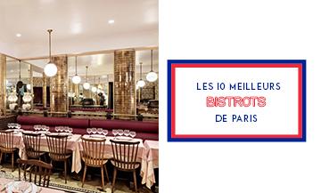 Les 10 meilleurs bistrots de Paris