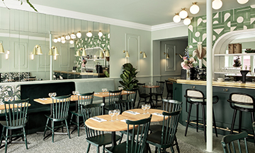 new bistro of Grands Boulevards in Paris