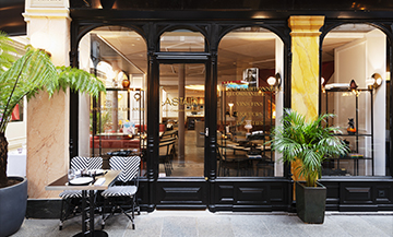 Astair, the new trendy brasserie at the Passage des Panoramas