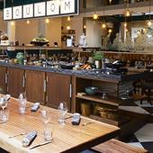 Salle de restaurant du brunch boulom