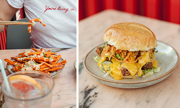 The most coveted burger during fashion-week