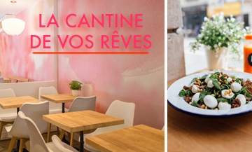 M la Vie, 100% veggie darling cantina