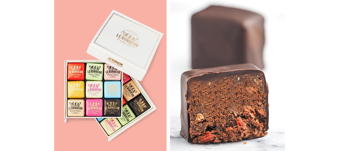 Boite de chocolat Le Bonheur
