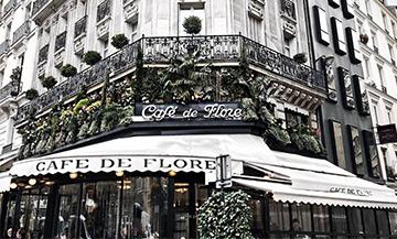 Club sandwich du restaurant Café de Flore