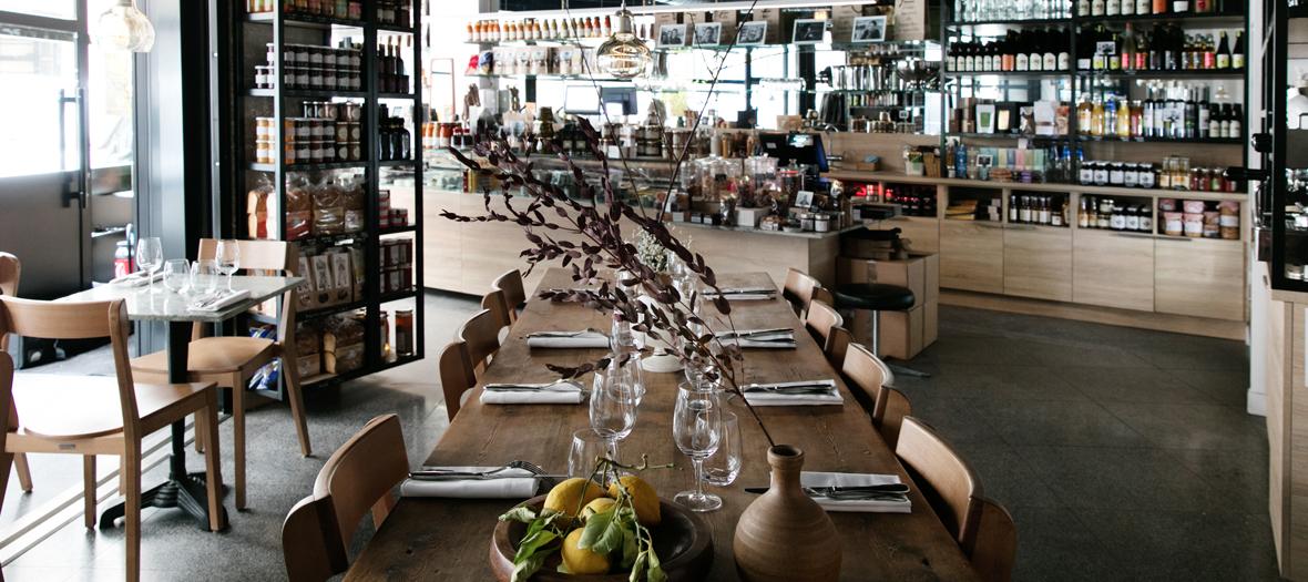 L'epicerie ouvre son restaurant