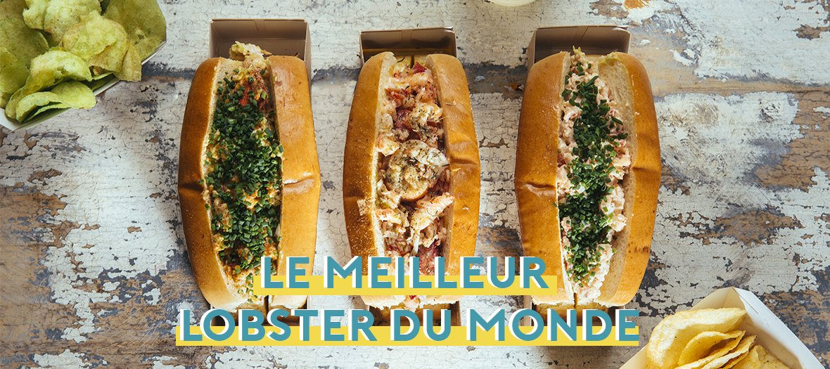 Lobster roll, street food