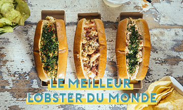 Testez absolument le sandwich de Homer Lobster