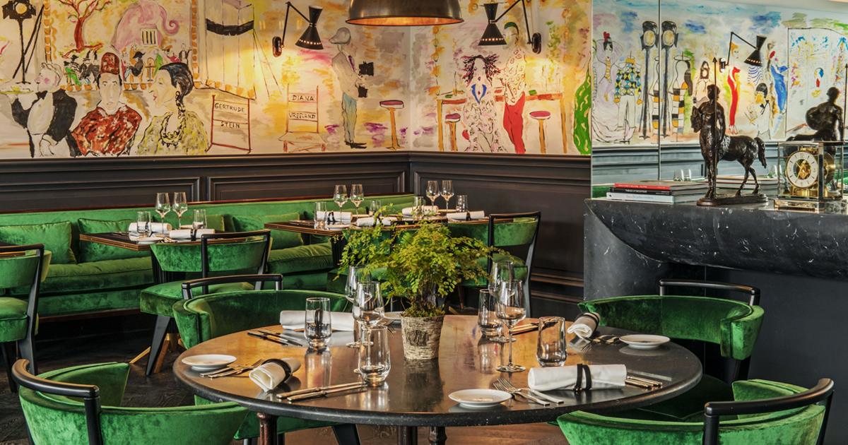 le schiap le restaurant italien branch de l h tel de. Black Bedroom Furniture Sets. Home Design Ideas