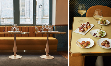 Le nouveau restaurant italien a Paris, decoration, plats et vin