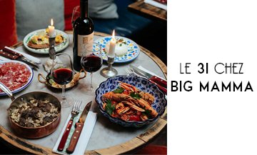 Book a table at Big Mamma for NewYear's Eve…