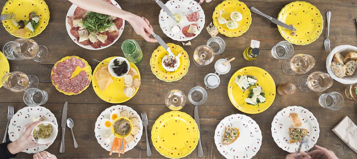 Restaurant provençal et épicerie