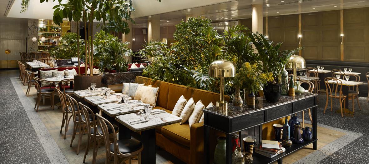 Salle du restaurant Alcazar