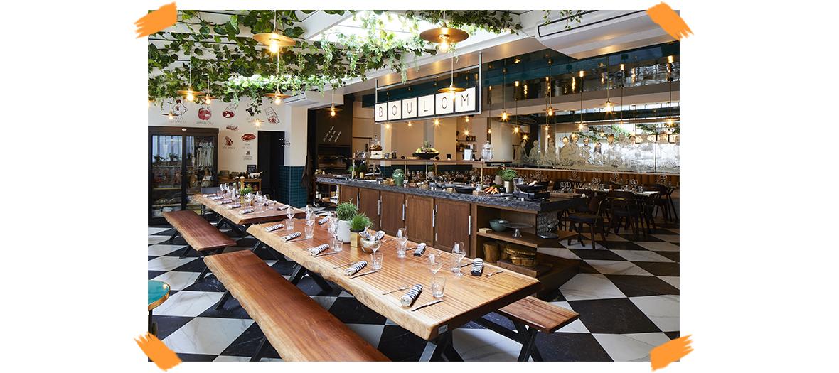 Boulom restaurant de Julien Duboue