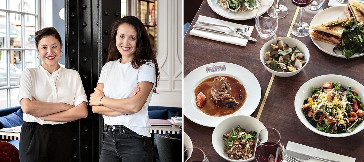 Cafe Panache nouveau restaurant de l'hotel Panache par les soeurs Levha