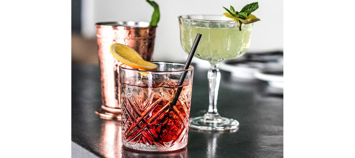 Cocktails mirtus et rosumarinu