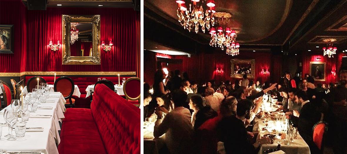 Interieur du restaurant Décoration intérieur et la fiesta orchestrée par Olivier Salem, Romain Taieb et Jean Mat