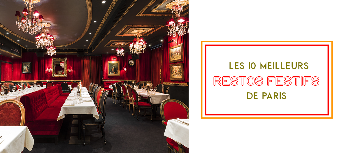 Restaurants to party in Paris