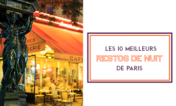 Where to have a very late dinner in Paris ?