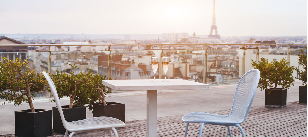 Rooftop Paris