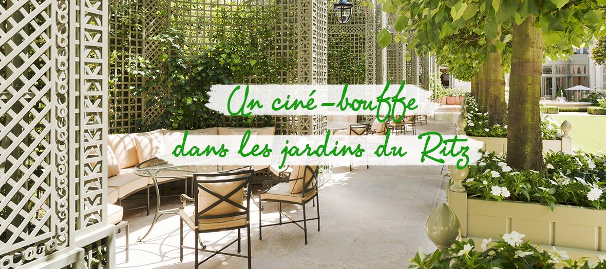 Cine-Club dans les jardins du Ritz