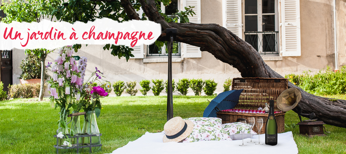 Jardin a champagne