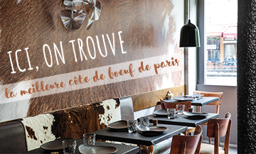 Un steak-house mordant dans le 11e