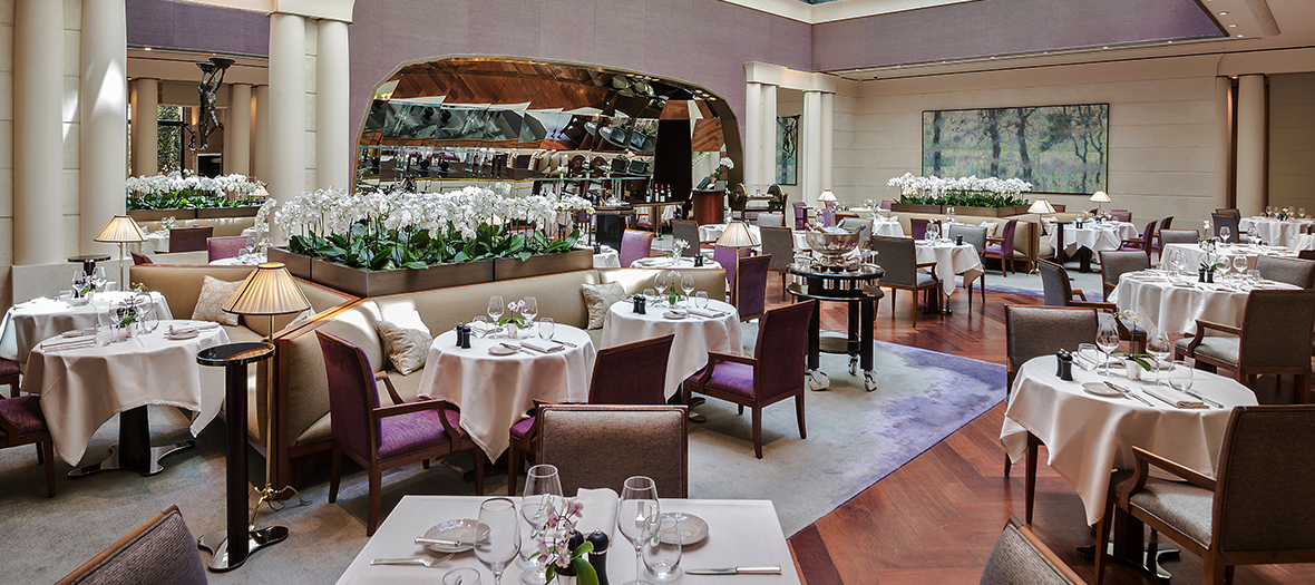 Dining room of the Park Hyatt Neo Bistrot Sens in Paris