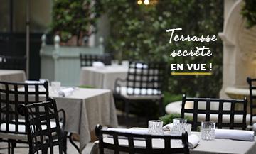 La terrasse la plus romantique de Paris