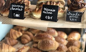 Boulangerie du chef Alan Geaam dans le Marais