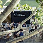 Terrasse et bar à cocktails dans le Marais