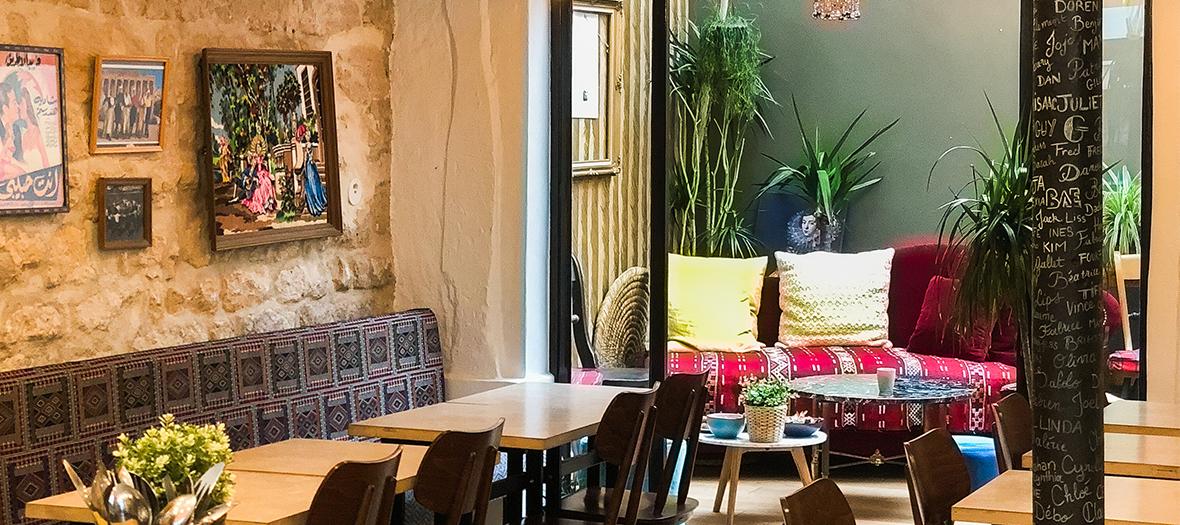 Bar à houmous