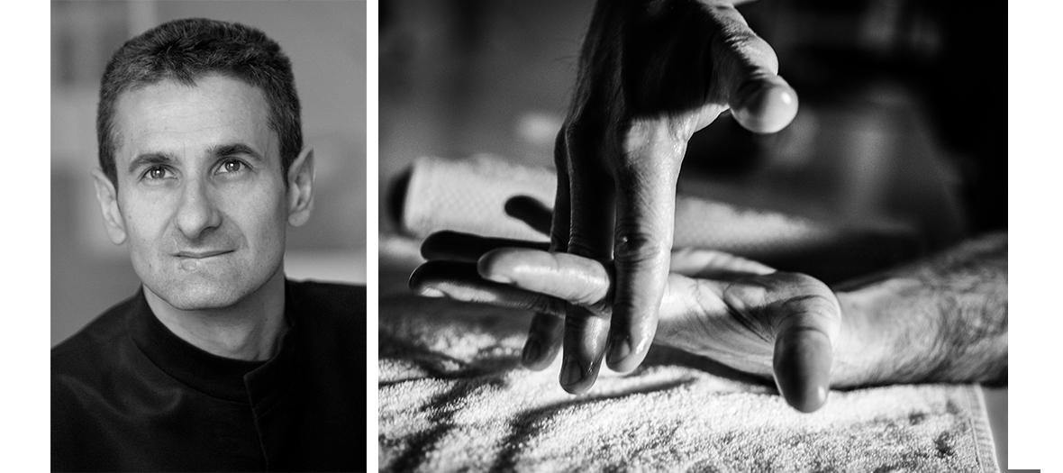 Le masseur Xavier Mehat Oepra de Paris