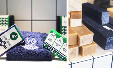 Le Baigneur, the most hype soap works in Paris