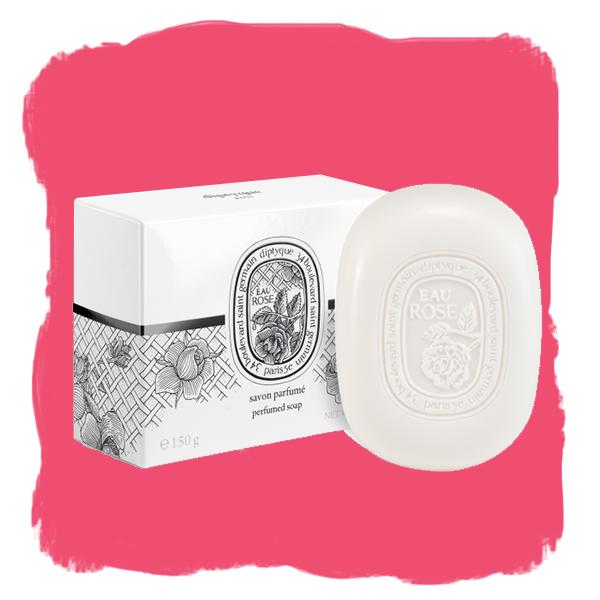 Savon parfume eau de rose
