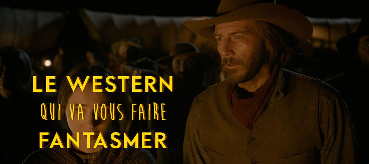 Film Netflix, western des freres Coen, Bill Heck et Zoe Kazan dans La ballade de Buster Scruggs