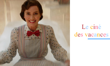 Emily Blunt dans le role de Mary Poppins dans le film le retour de Mary Poppins