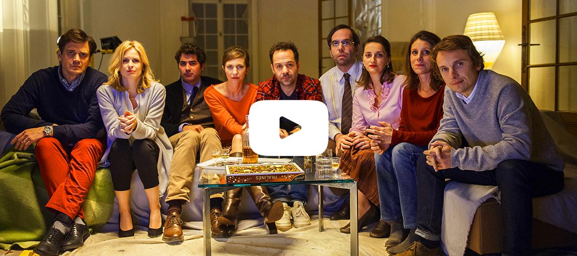 Extrait de la série avec Jeanne Bournaud, Lorànt Deutsch, Magali Miniac, Mathias Mlekuz, Marie Lanchas et Sébastien Castro