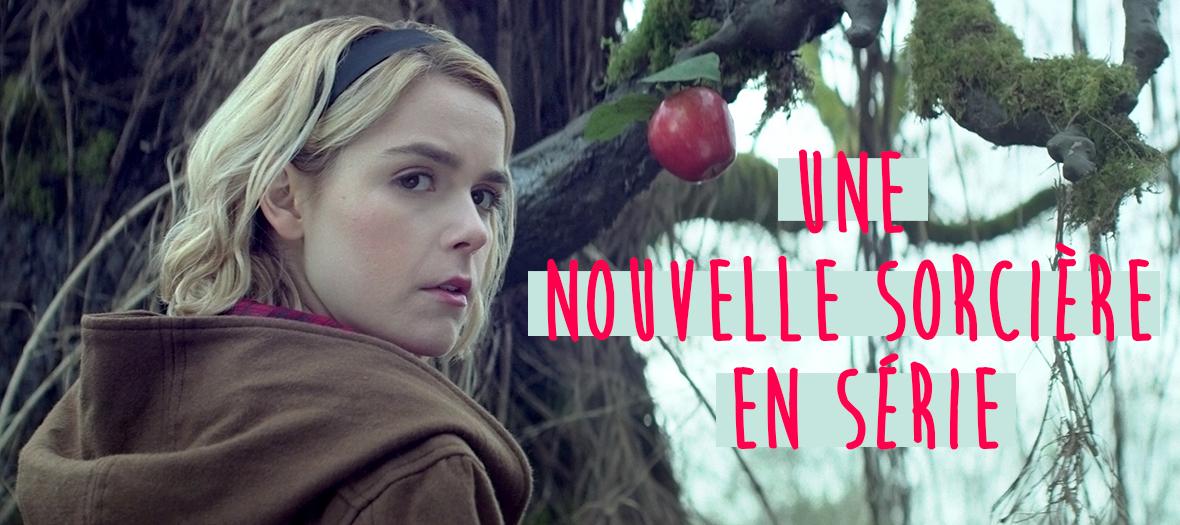 Kiernan Shipka dans la serie les nouvelles aventures de Sabrina